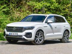 Volkswagen представил обновленный Touareg в Китае