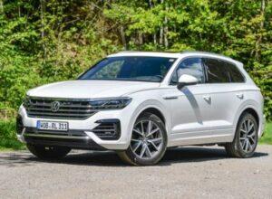 Volkswagen отзывает в России 476 кроссоверов Touareg