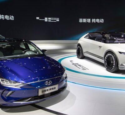 Hyundai Ioniq, электрокары