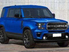 Внедорожник Ford Bronco получит эксклюзивный оттенок Lightning Blue