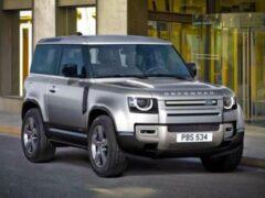 В России Land Rover Defender лишился дизельного гибрида