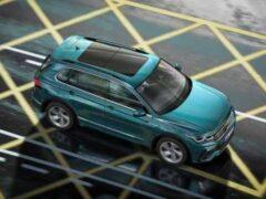 Volkswagen назвал комплектации рестайлингового Tiguan для России