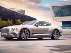 Bentley готовит премьеру купе Continental GT в версии от Mulliner