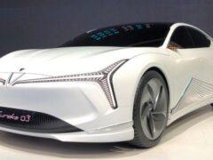Концепт Neta Eureka 03 может стать конкурентом Tesla Model 3