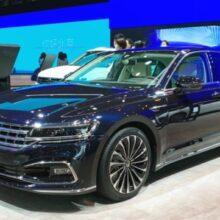 Флагманский седан Volkswagen Phideon получил обновление