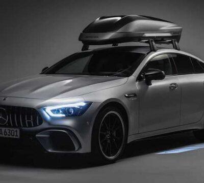 Mercedes-AMG, фирменный багажник