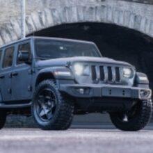 На продажу выставлен тюнингованный Jeep Wrangler