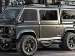 В Сети показали фургон Land Rover Defender VanRover