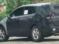 Обновленный Kia Sportage показали на шпионских фото