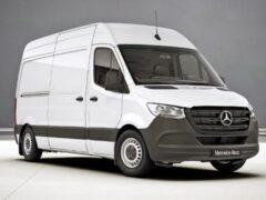 Mercedes-Benz Sprinter получил особую версию для России