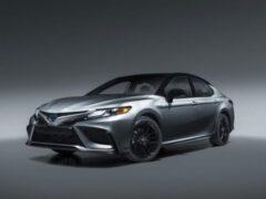 Toyota Camry 2021 года получит комплектацию XSE Hybrid