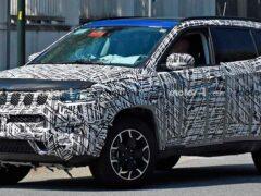 В Сети появились фото тестируемого прототипа кроссовера BMW X4