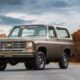 Легендарный Chevrolet K5 Blazer превратили в электрокар