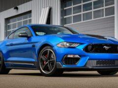 Ford Mustang Mach 1 будет продаваться по всему миру