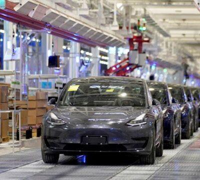 Tesla Model 3, китайской сборки