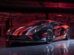 Lamborghini Aventador S японский дизайнер превратил в арт-объект