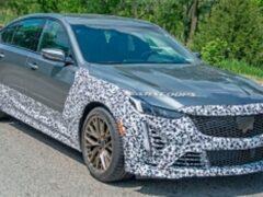Cadillac CT5-V Blackwing 2021 года готов к производству