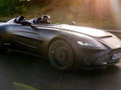 Aston Martin показал прототип нового спидстера V12 Speedster