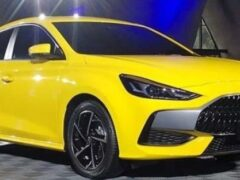 В Китае представлен новый седан MG 5