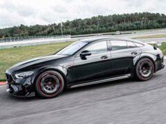 Немецкое ателье Brabus доработало Mercedes-AMG GT63 S