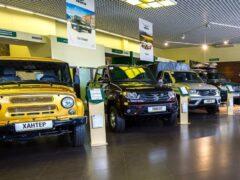 Внедорожники УАЗ подорожали в России на 10 000 – 13 000 рублей
