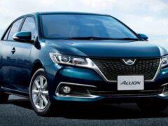 Toyota Allion получит версию с левым рулем и выберется за пределы Японии