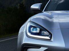 Subaru показал видеотизер спорткара BRZ 2022 модельного года