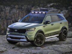 Kia представила две внедорожные версии обновленного Sorento