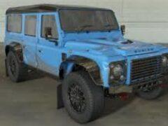 Land Rover Defender возродится как 565-HP Bowler CSP 575 Special