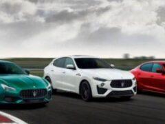 Все автомобили Maserati перейдут на электричество к 2025 году