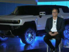 GM показал электрический внедорожник Hummer