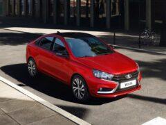 АвтоВАЗ начал продажи LADA Vesta Sport в двухцветной окраске
