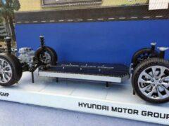 Hyundai презентовала новую платформу для будущих электрокаров