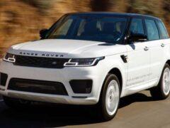 Продажи Jaguar Land Rover в октябре на российском рынке снизились на 20%