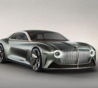 Bentley, первый элекрокар