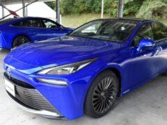 Toyota в преддверии дебюта показала новый Mirai