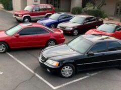 Американец повторил рекламу Acura 90-х годов, собрав коллекцию авто