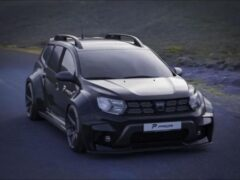 Немецкие тюнеры предложили экстремальный обвес для Dacia Duster