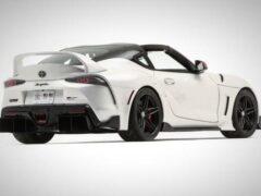 Toyota представила споркар GR Supra в кузове Targa