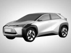 Toyota представит новый электрический кроссовер в 2021 году