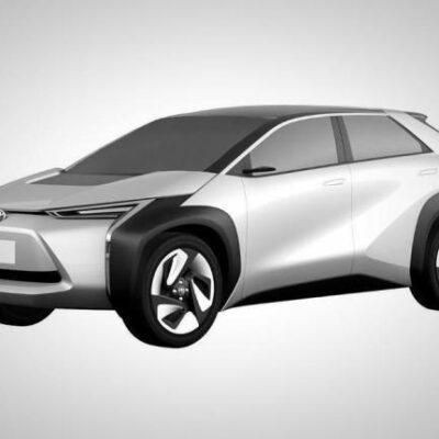Toyota, новый электрический кроссовер