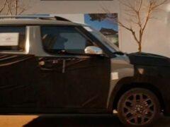 Самый бюджетный кроссовер Hyundai сняли на видео