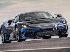 Электрический гиперкар Pininfarina Battista завершил скоростные испытания