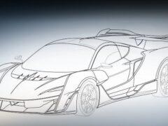 Гибридный гиперкар McLaren Sabre показали на патентных изображениях