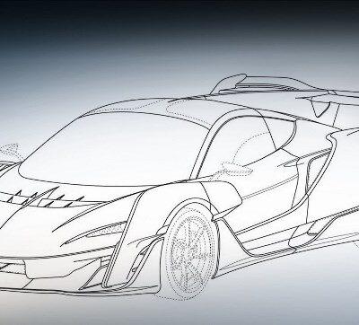 McLaren Sabre, гиперкар
