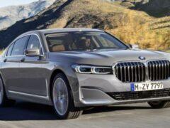 Новое поколение BMW 7-Series показано на рендерах