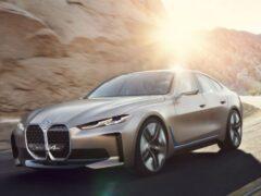 Седан BMW i4 появится на рынке в двух мощных версиях