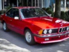 На аукционе продали 35-летний экземпляр BMW 635 CSi