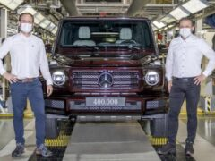 Mercedes-Benz объявил о выпуске 400-тысячного G-Class