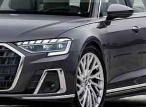 Представлены первые изображения обновленной Audi A8